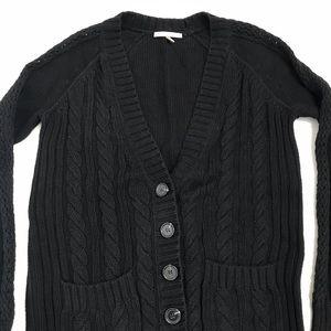 Victoria's Secret Cable Knit Cardigan Sweater Sm